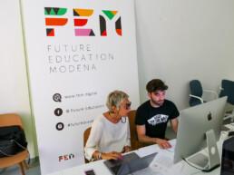 Alessandro Iannella e Beatrici Aimi presso FEM
