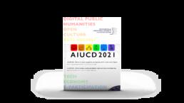 Copertina del Book of Abstract del Convegno AIUCD 2021